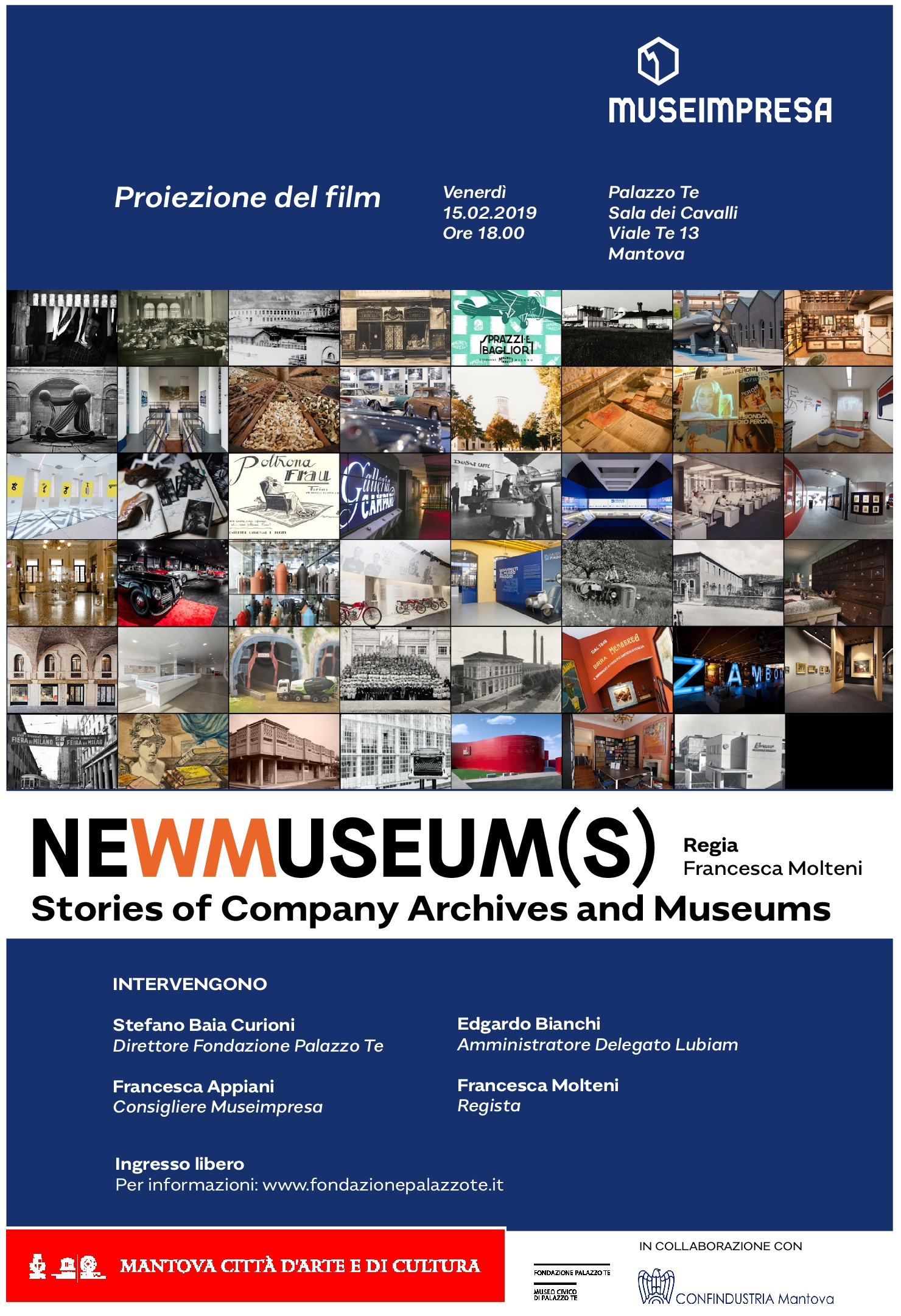 Proiezione del film NEWMUSEUM(S), Stories of Company Archives of Museums
